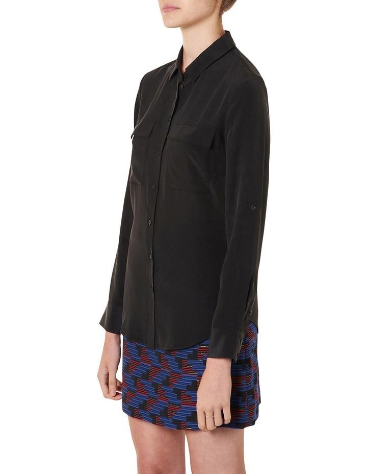 Sofia Long Sleeve Silk Shirt image 4