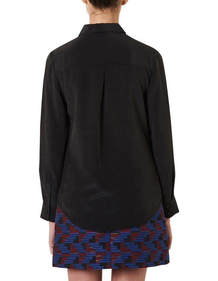 Sofia Long Sleeve Silk Shirt image 6
