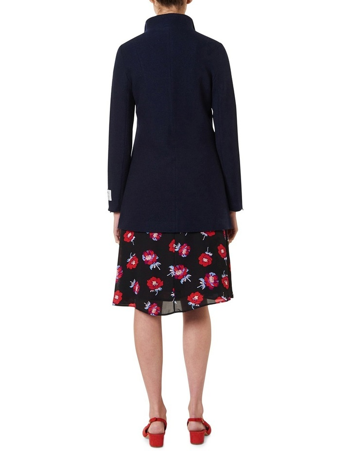 Rose Felted Wool Coat image 3