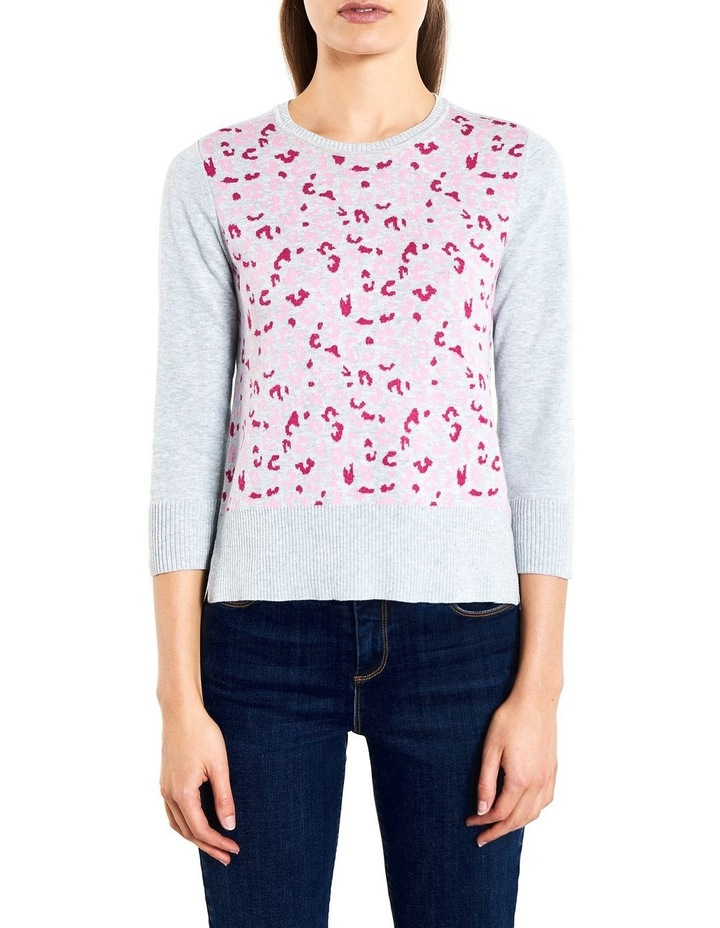 Animal Jacquard Knit image 1