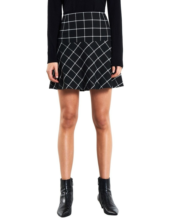 Windowpane Skirt image 1