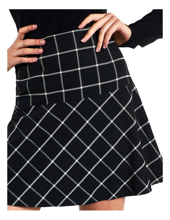 Windowpane Skirt image 3
