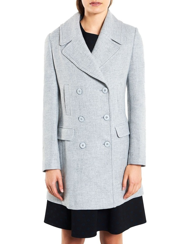 Cosy Twill Double Breasted  Coat image 1