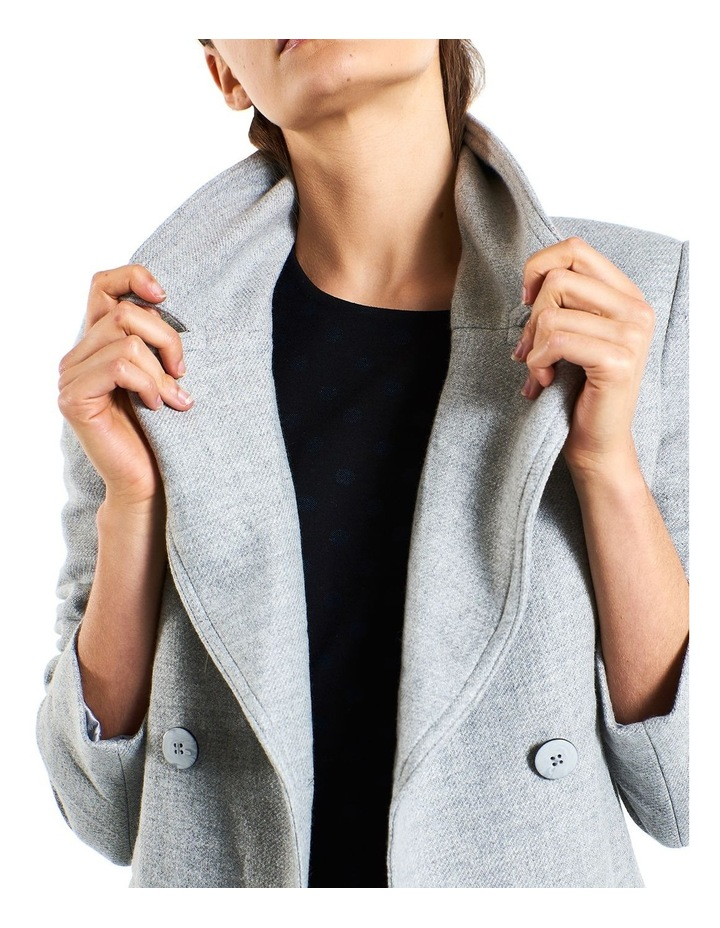 Cosy Twill Double Breasted  Coat image 3