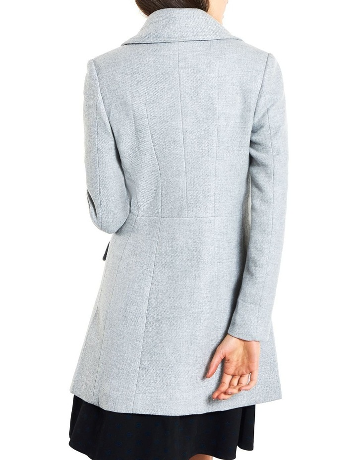Cosy Twill Double Breasted  Coat image 4
