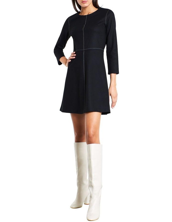 Brushed Wool Dress image 2