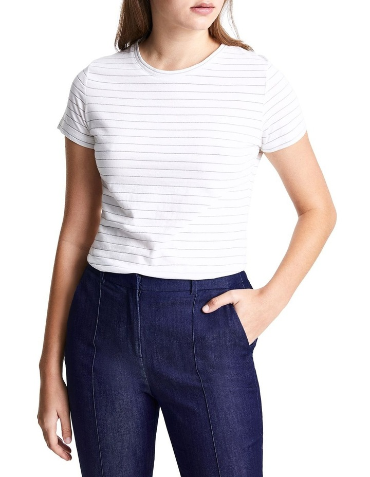 Lucy Stripe Tee image 4