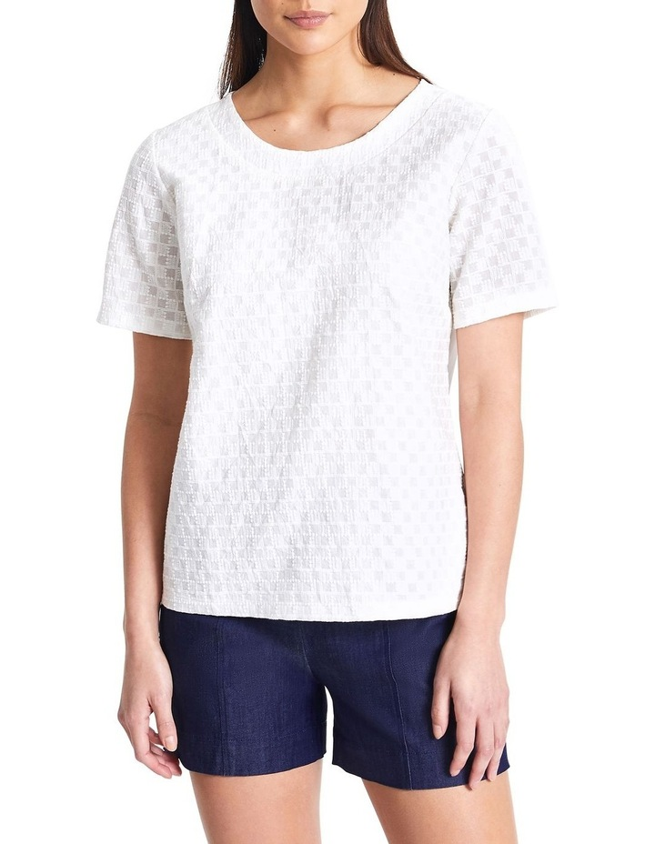 Cubic Lace Tee image 1