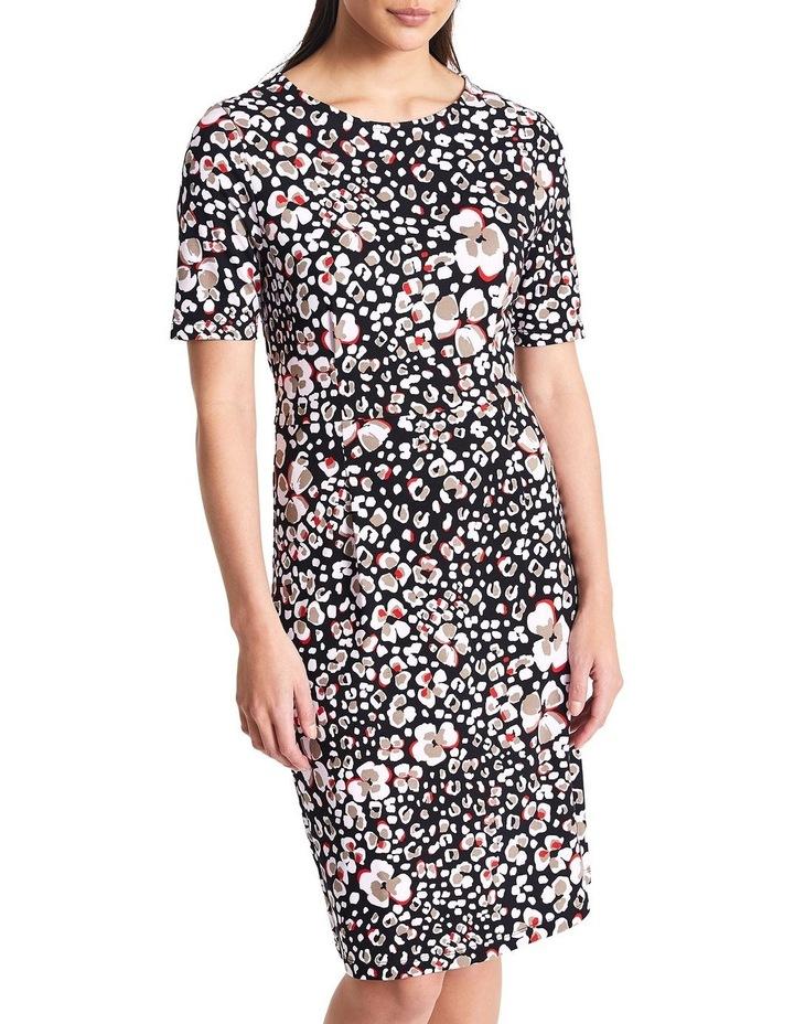 Floral Animal Jersey Dress image 1