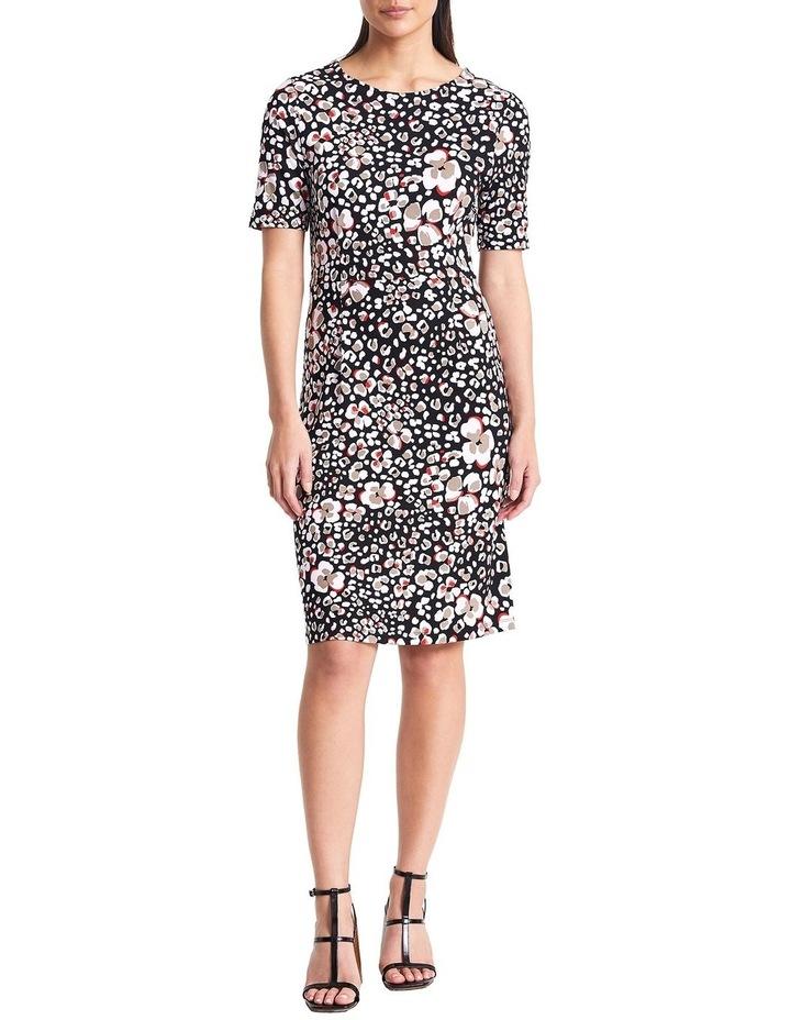 Floral Animal Jersey Dress image 2