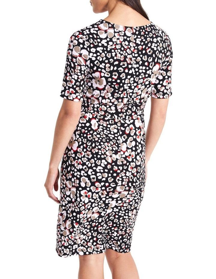 Floral Animal Jersey Dress image 4