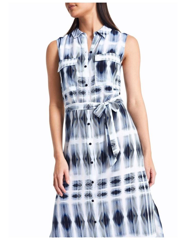 Sofia Silk Tie Dye Shirt Dress image 2