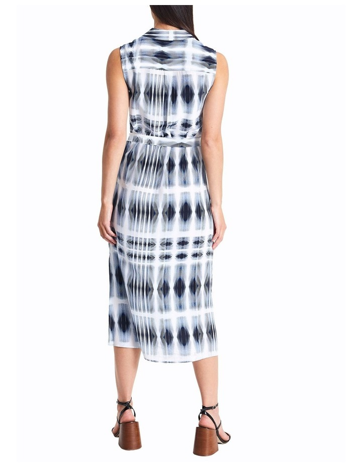 Sofia Silk Tie Dye Shirt Dress image 4