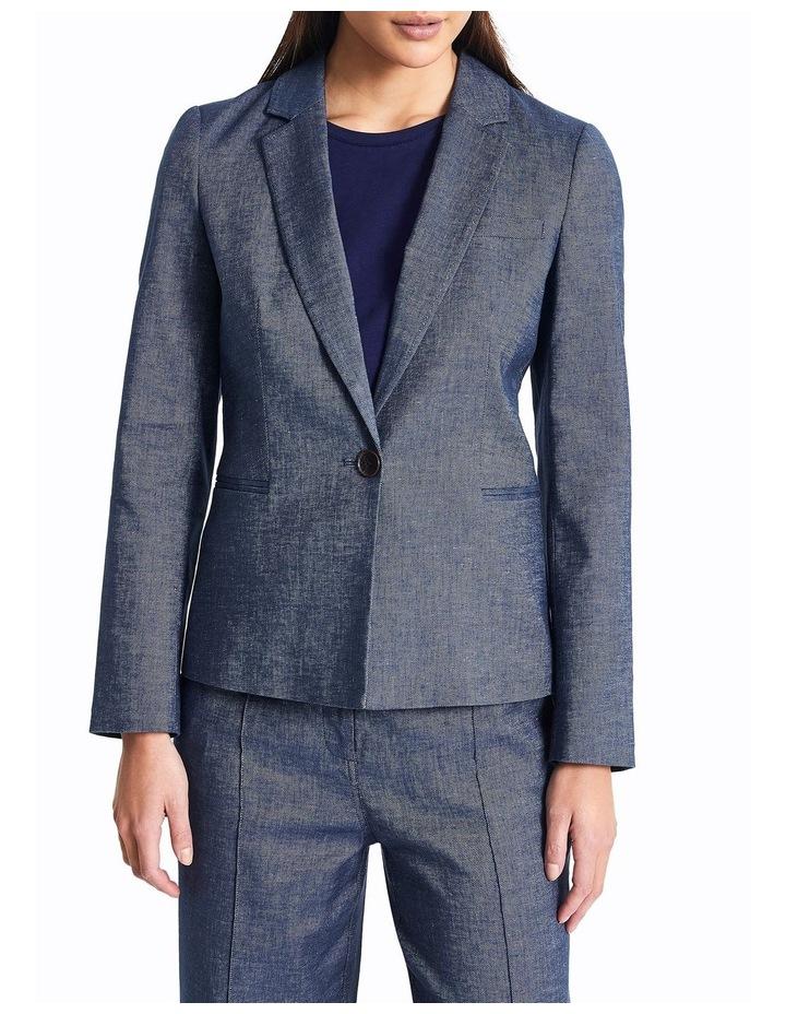 Margot Linen Denim Jacket image 1