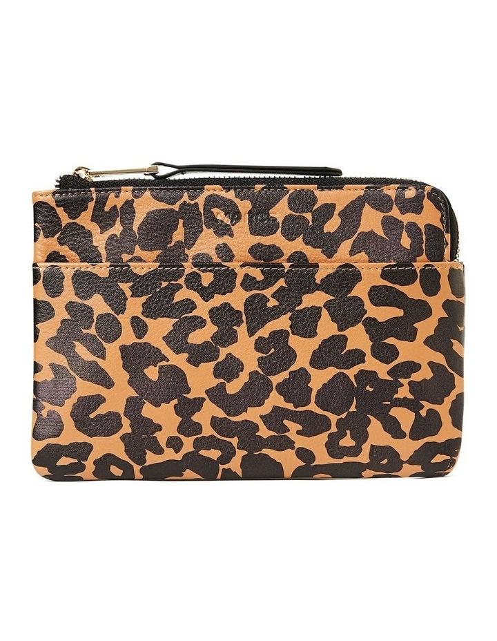 Leopard Leather Pouch image 1