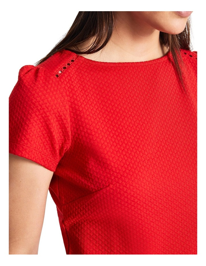 Lola Textured Jersey Top image 3
