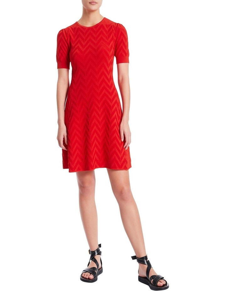 Textured Knit Dress image 1