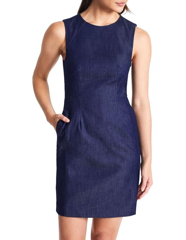 Dara Smart Denim Dress image 1
