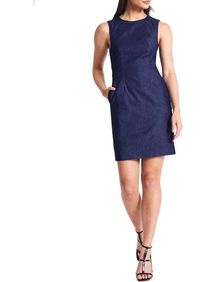 Dara Smart Denim Dress image 2