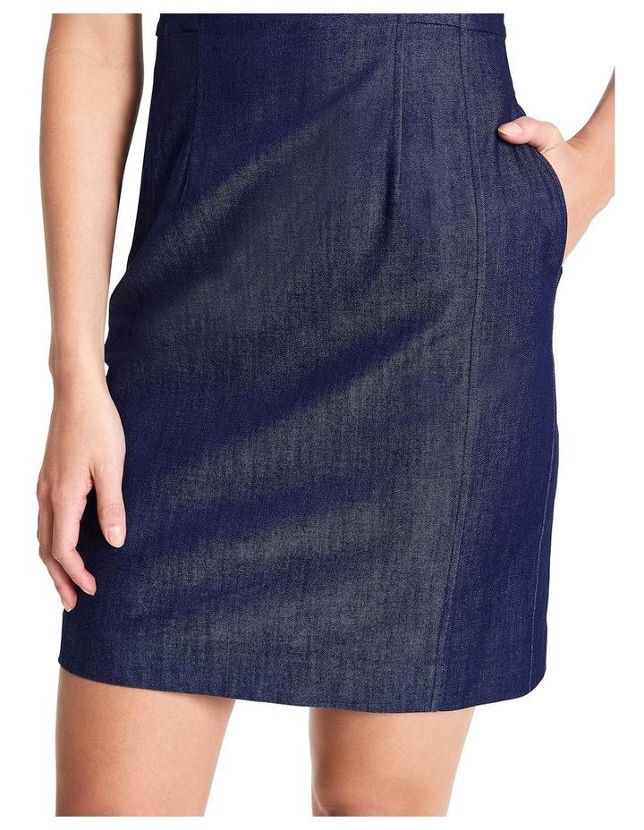 Dara Smart Denim Dress image 3