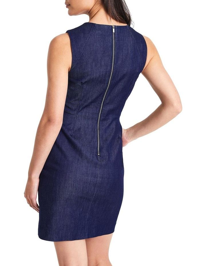 Dara Smart Denim Dress image 4