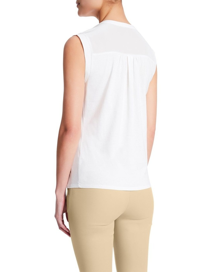 The Office Silk Jersey Top image 4