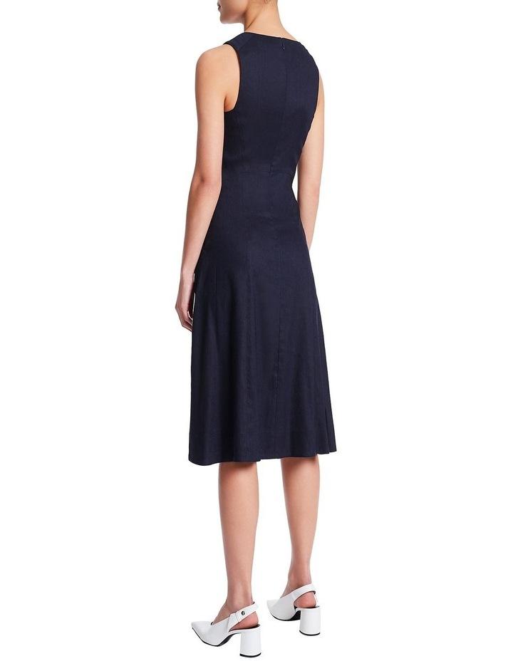 Eva Stretch Linen Dress image 4