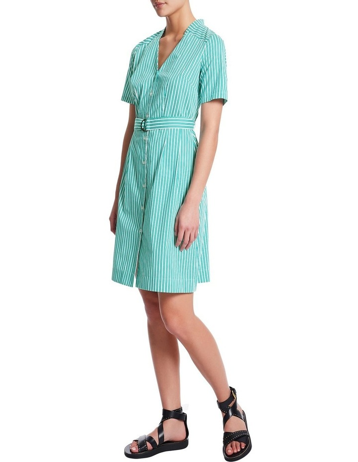 Parallel Lines Shirt Dress by Marcs