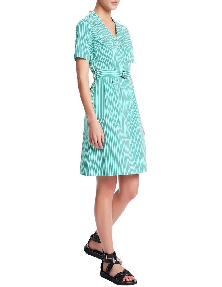 Parallel Lines Shirt Dress image 2