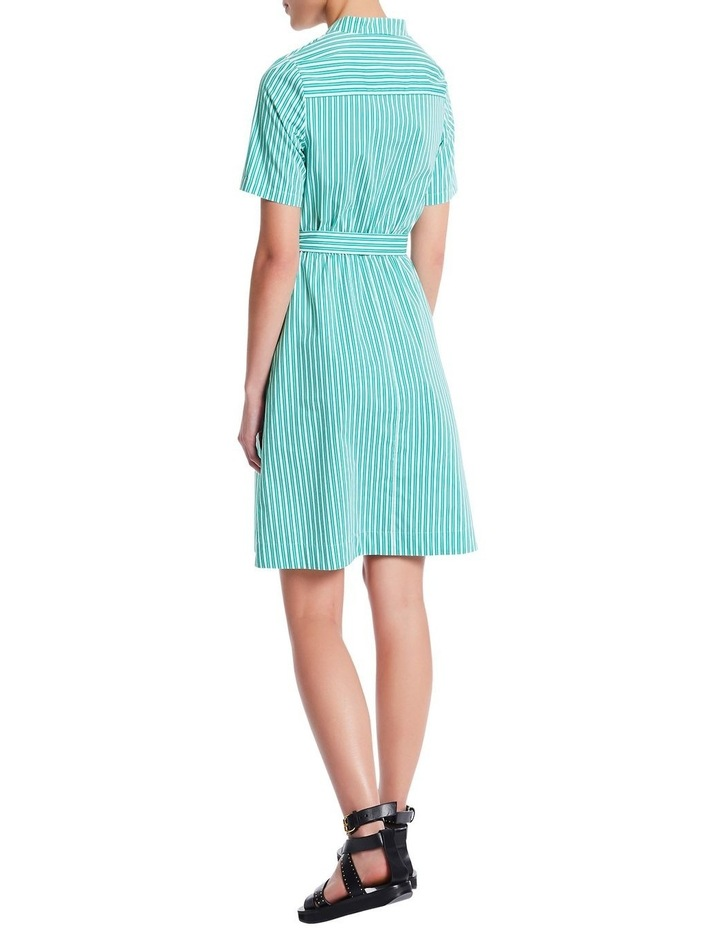 Parallel Lines Shirt Dress image 3