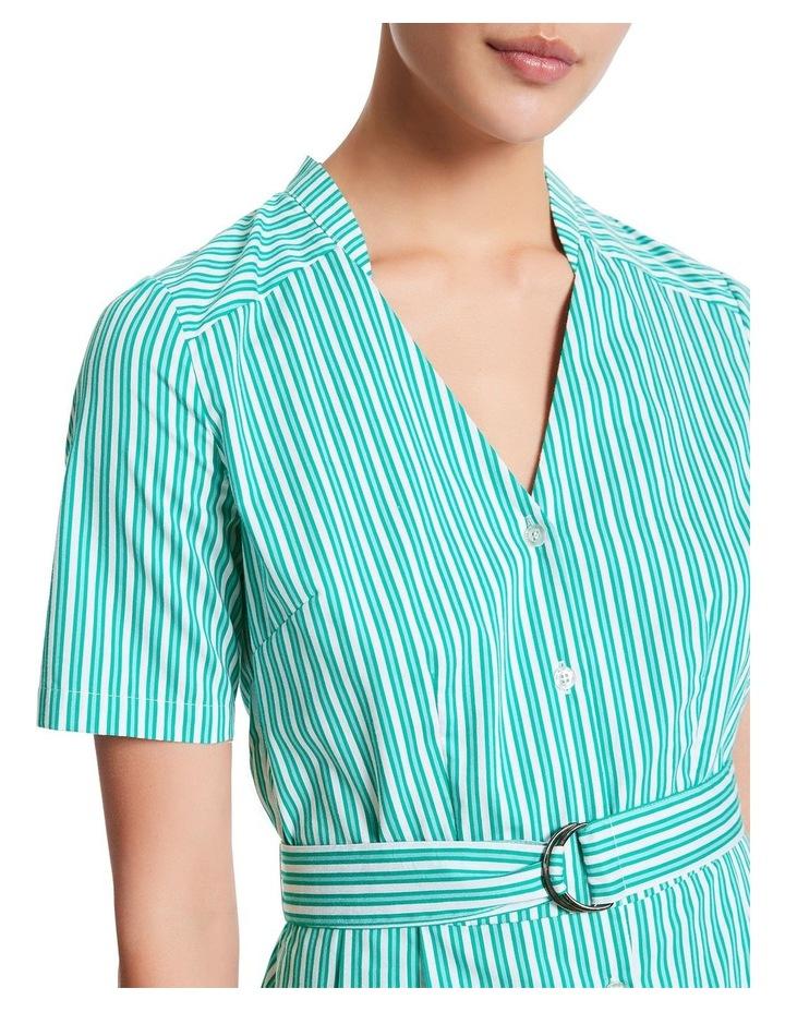 Parallel Lines Shirt Dress image 4