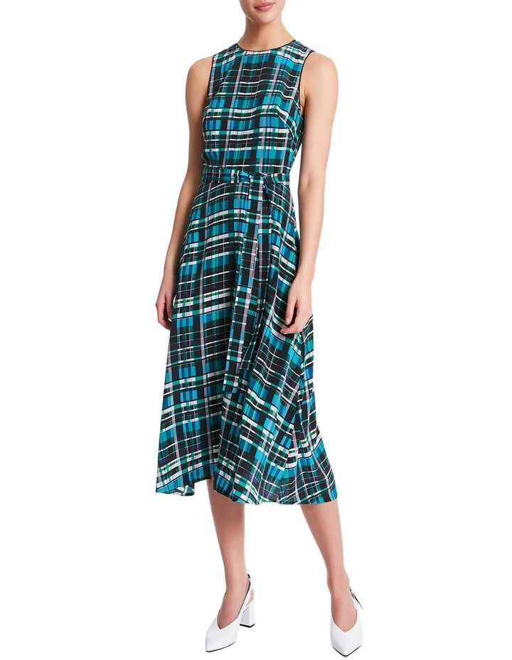 Just Checking Silk Dress image 1