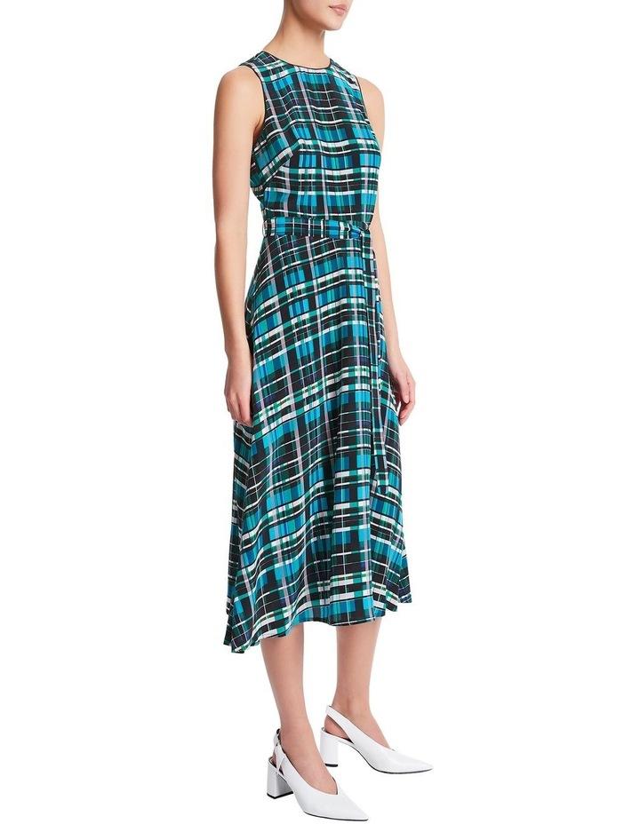 Just Checking Silk Dress image 2