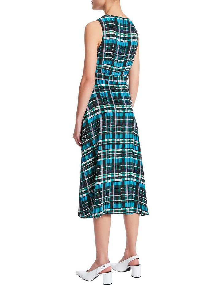 Just Checking Silk Dress image 4
