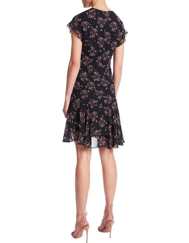 Nell Floral Spotting Dress image 4