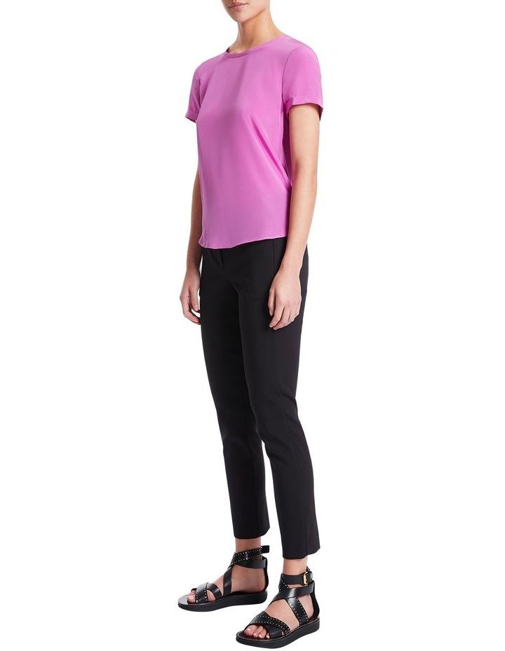 Jessie Silk Jersey Tee image 2