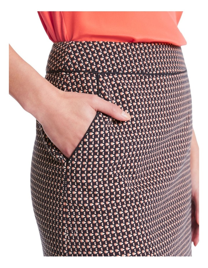 Diamond Jacquard Skirt image 3