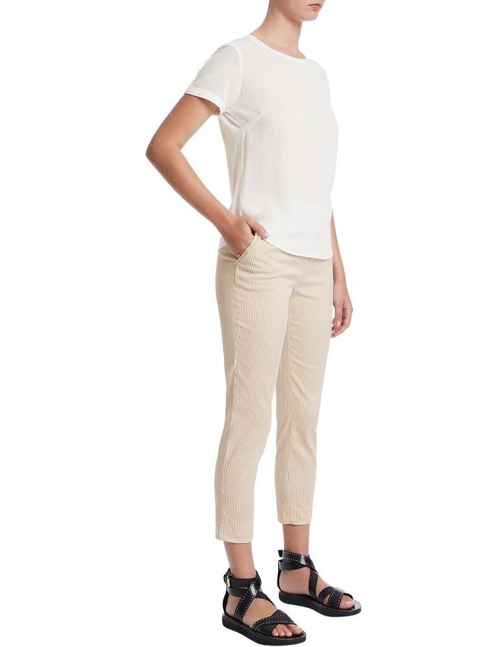 Jessie Short Sleeve Silk Jersey Tee image 2