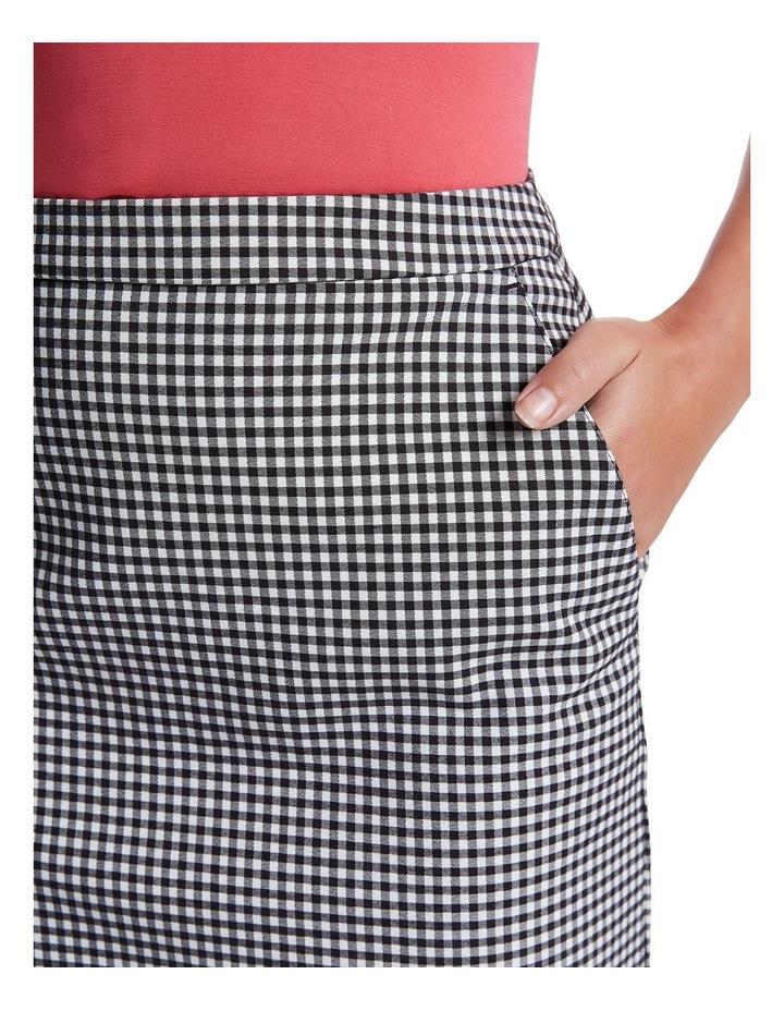 Gingham Skirt image 4