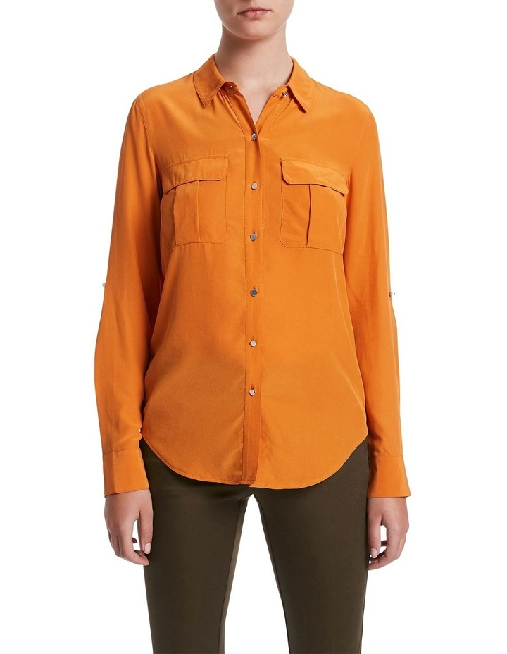 Sofia Silk Utility Shirt image 1