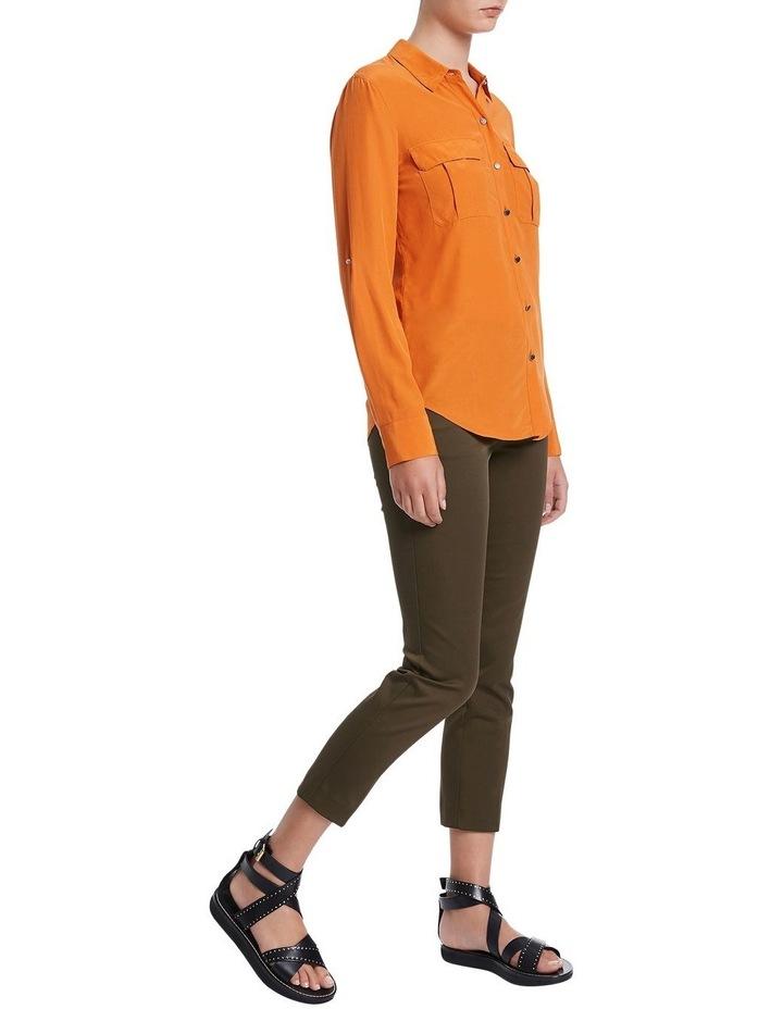 Sofia Silk Utility Shirt image 2