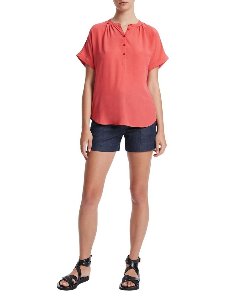 Extended Notice Silk Blouse image 2