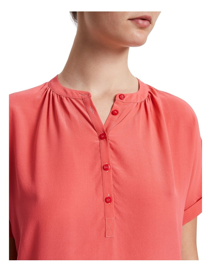 Extended Notice Silk Blouse image 4