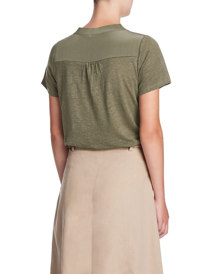 Fern Linen Silk Top image 3