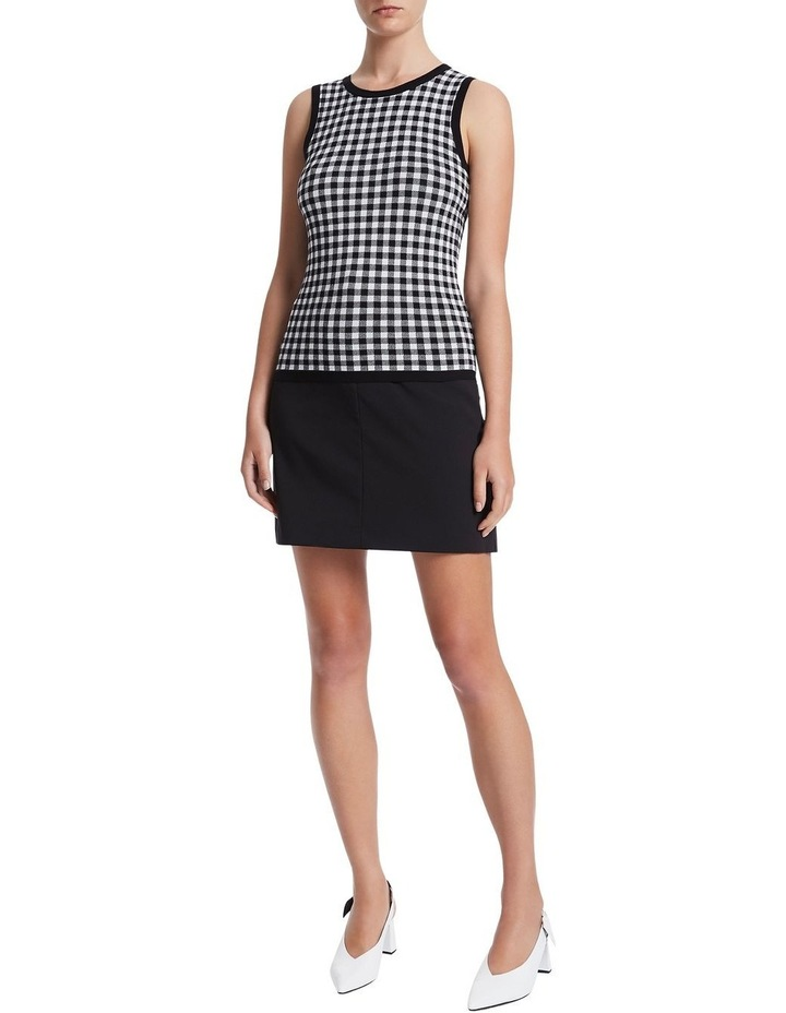 Gingham Knit Top image 2