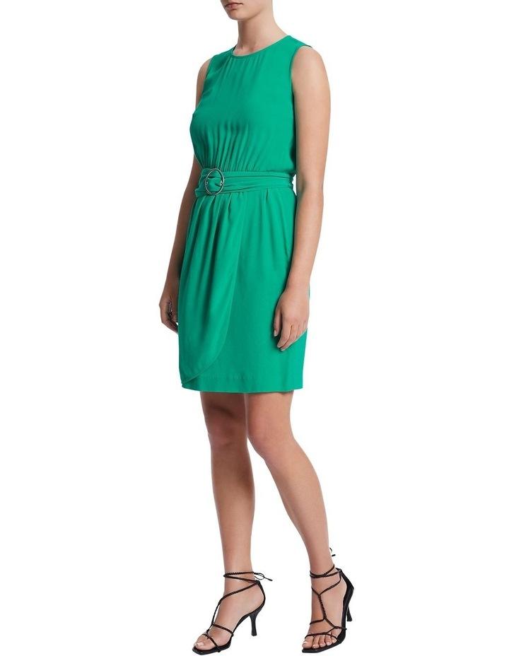 Green Light Crepe Dress image 1