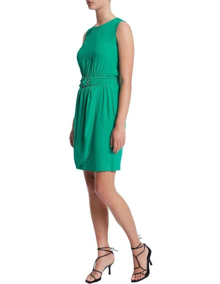 Green Light Crepe Dress image 2