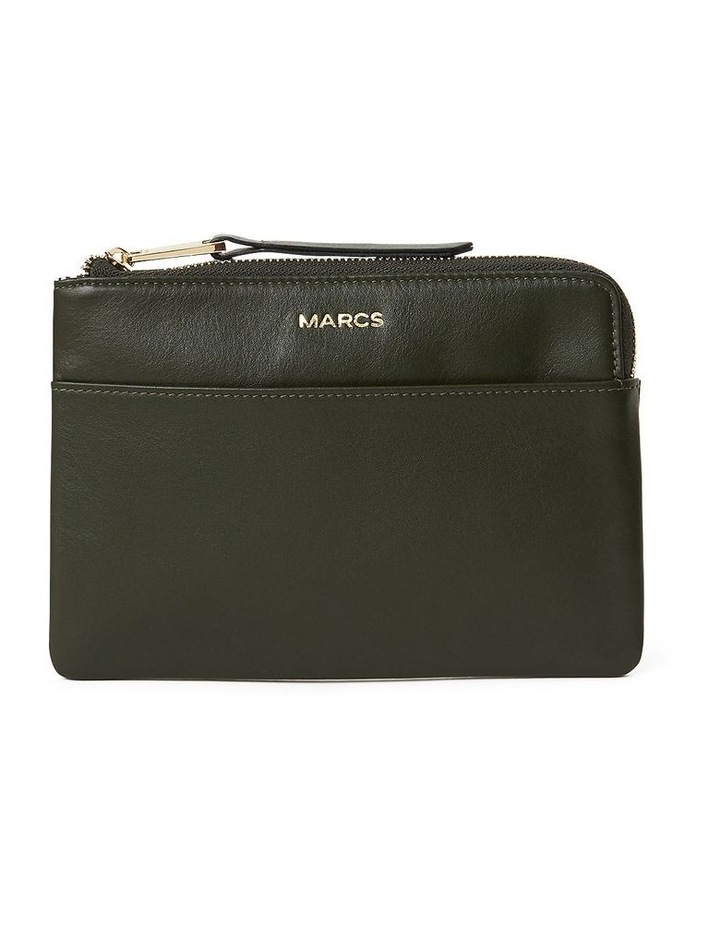 Leather Zip Pouch image 1