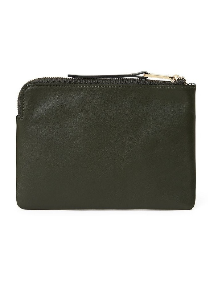 Leather Zip Pouch image 2