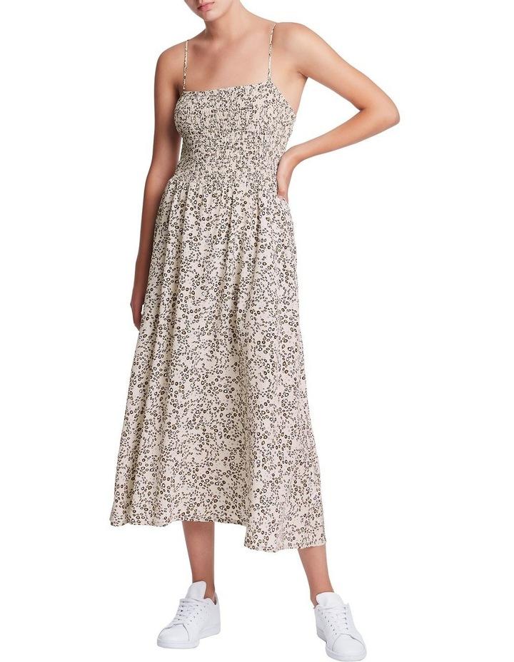 Wild One Shirred Silk Dress image 1
